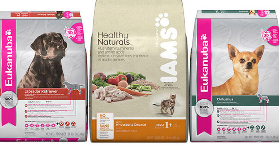 P&G Recalls IAMS, Eukanuba Pet Food 46100