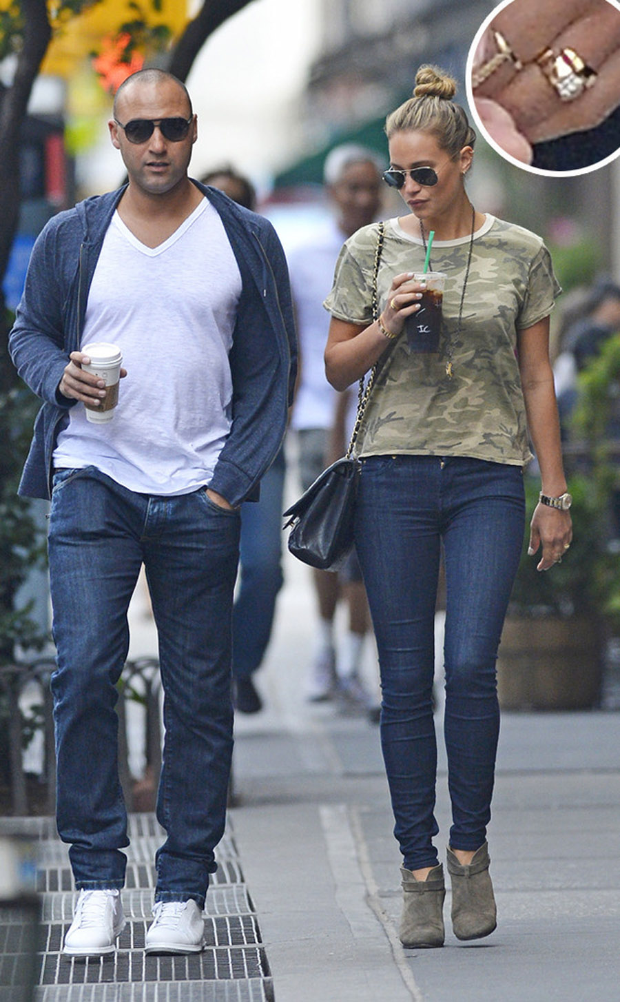 Derek Jeter and Hannah Davis Not Engaged: Get the Scoop on Her Massive Ring 46104