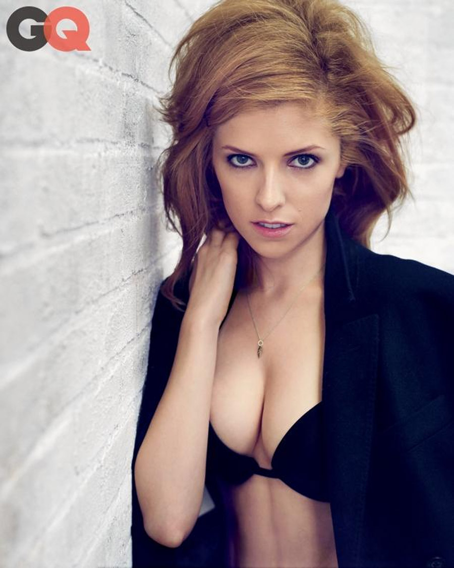 Anna Kendrick flaunts cleavage in GQ, talks signing autographs while lingerie shopping 46164