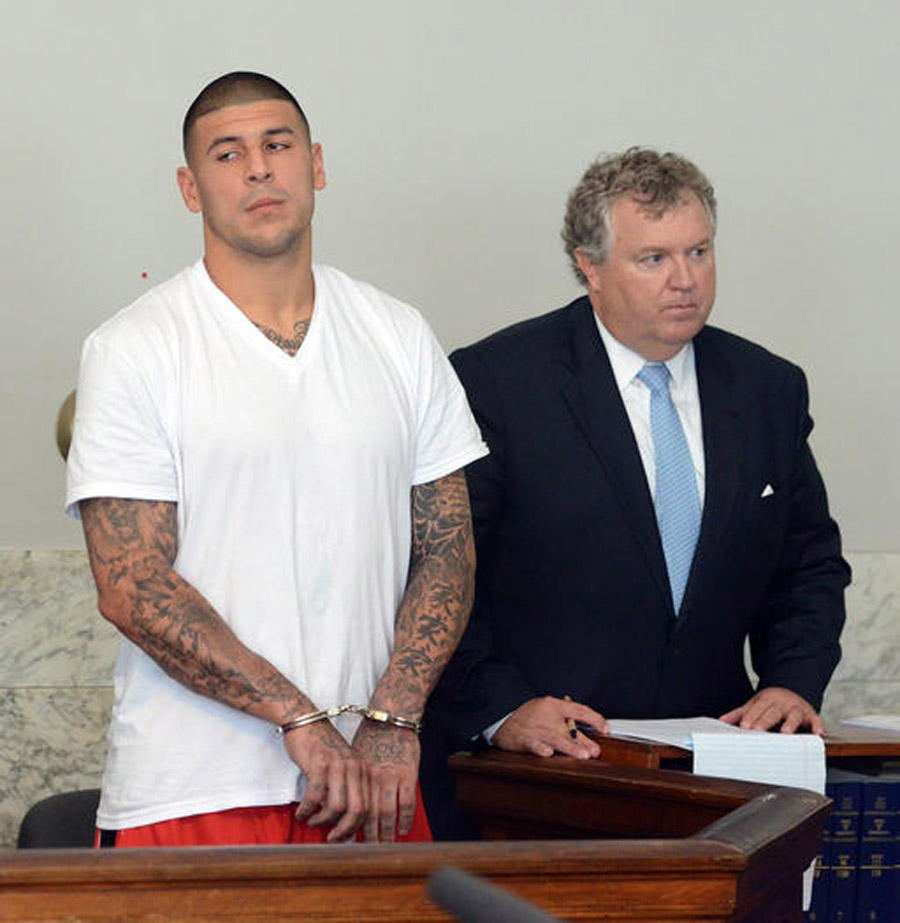 Aaron Hernandez indicted for first-degree murder 46186