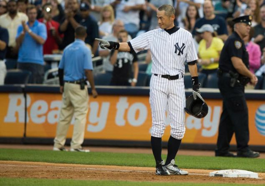 Ichiro Suzuki reaches 4,000-hit milestone as Alfonso Soriano slugs Yankees to win over Blue Jays 46194