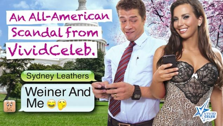 Weiner sext partner Sydney Leathers may have been exposed to HIV by porn costar 46215