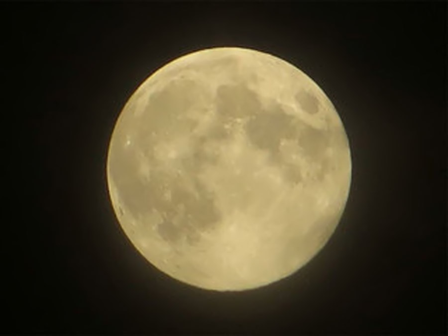 A rare Blue Moon in the sky 46223