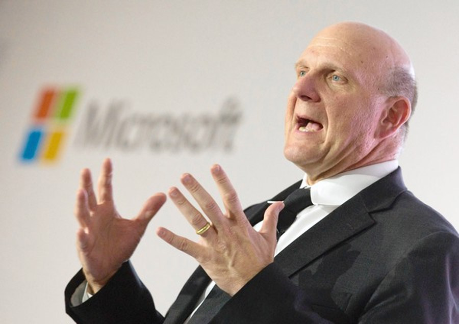 Microsoft CEO Steve Ballmer to step down in next 12 months 46236