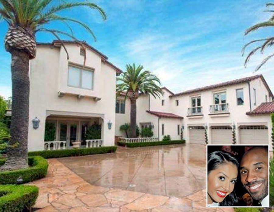 Kobe Bryant's $8.6 Million Home and Other Celebrity Realty 46243