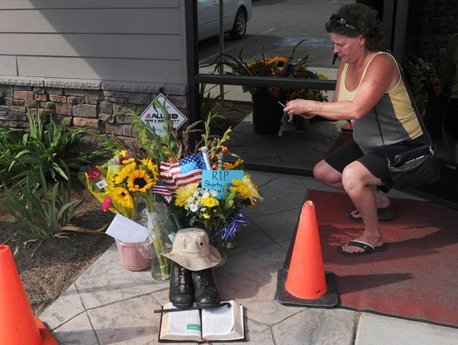 Slain WWII veteran honored in Spokane 46247