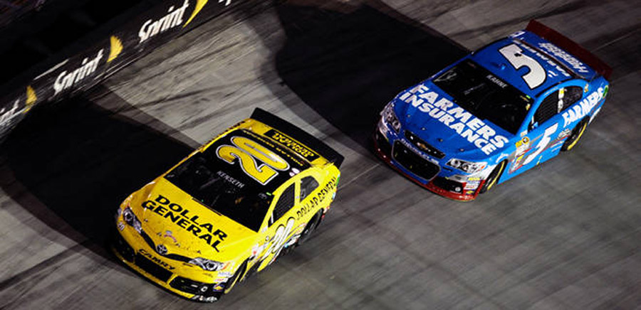 Kenseth fends off Kahne for BMS win 46253