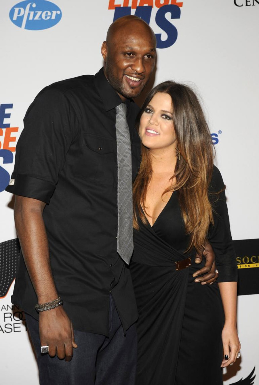 Khloe Kardashian And Lamar Odom's Marriage Trouble Caused By Drugs 46258
