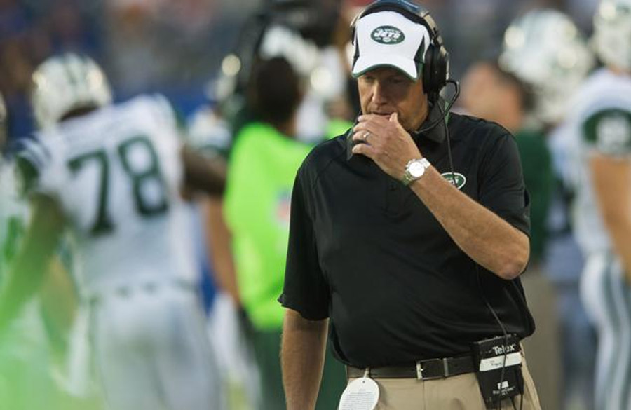 Rex Ryan's decision to play Mark Sanchez in fourth could cost him job 46293