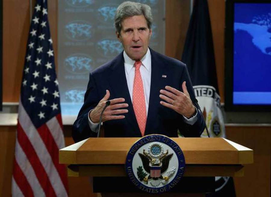 A 'moral obscenity': Kerry says evidence of Syria chemical attack 'undeniable' in most forceful statement yet 46295