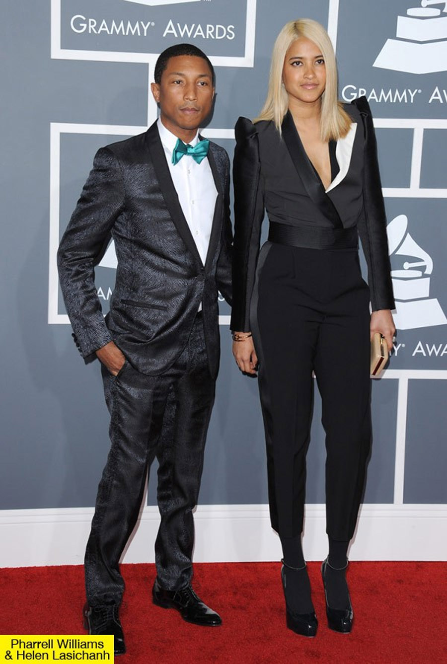 Pharrell Williams Marries Fiancée Helen Lasichanh 46335