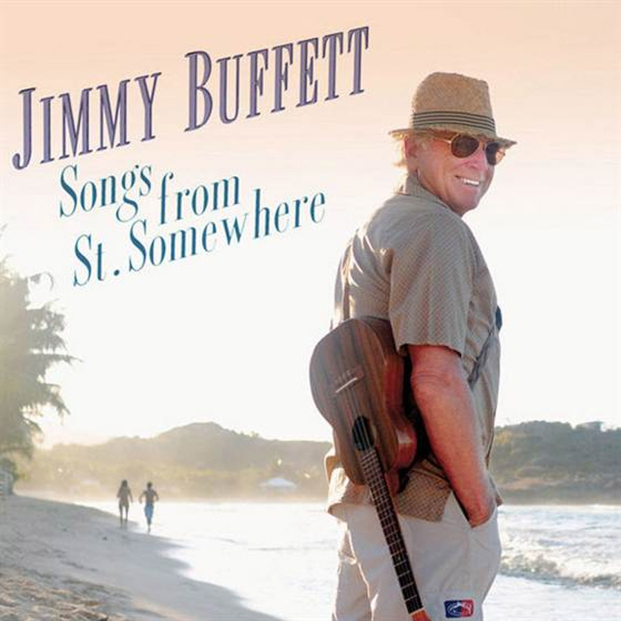 Jimmy Buffett croons about 'the rocket' Neil Armstrong rode 46366