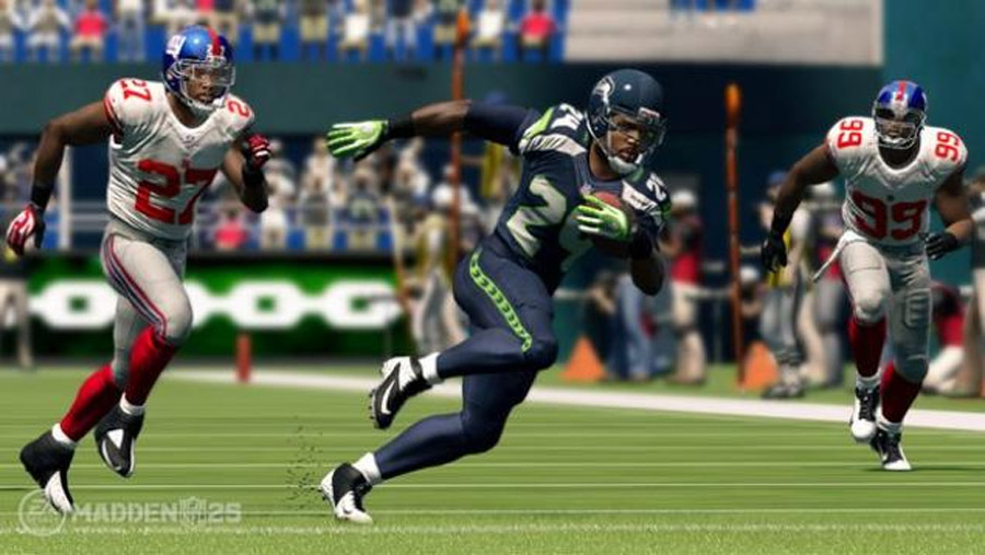 EA Sports still fumbles some of what makes real NFL football so great, but overall it takes huge step forward with running game. 46368