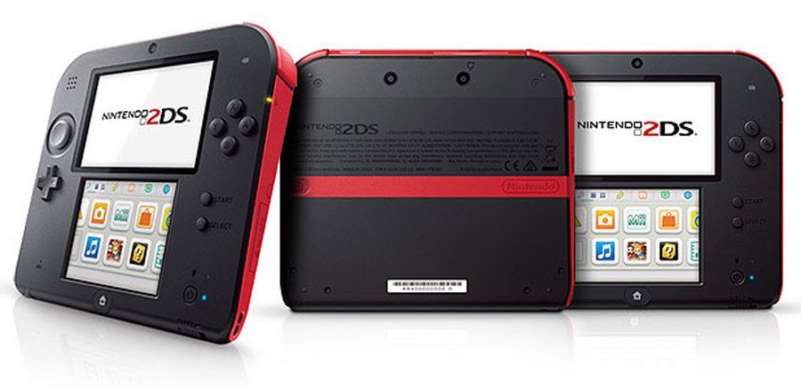 Nintendo reveal 2DS handheld 46394