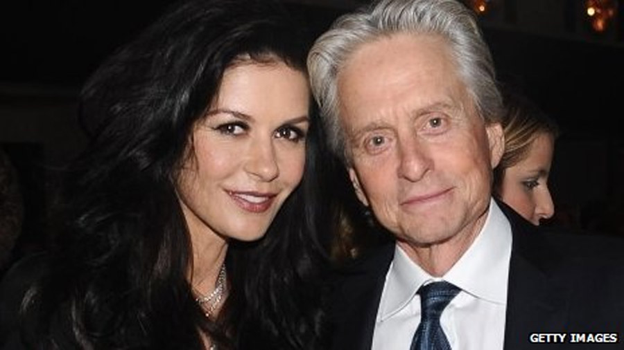 Michael Douglas and Catherine Zeta Jones 'take break' 46397