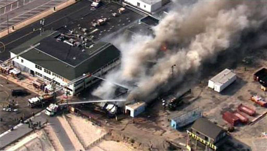 Pictures of fire at Seaside Park boardwalk 46416