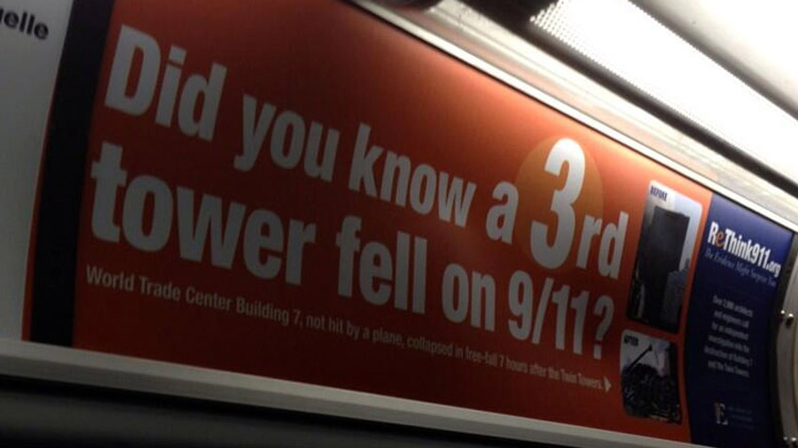 Group behind 9/11 bus ad responds to criticism 46454