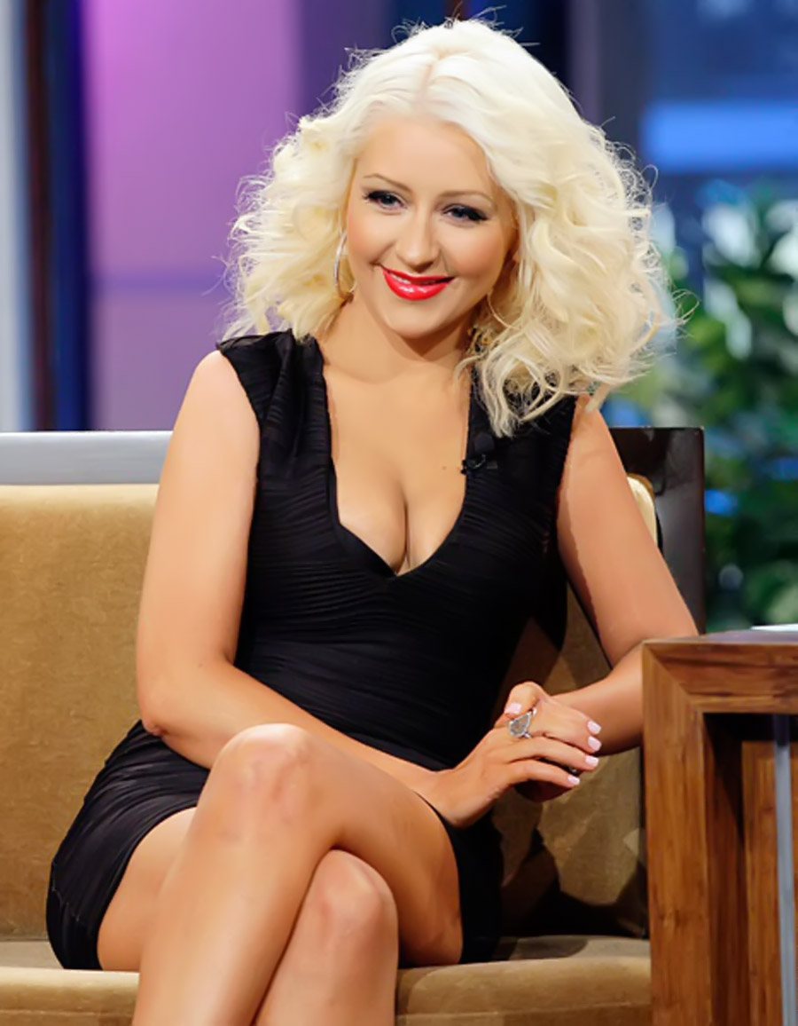 Christina Aguilera Rocks Even Skinnier Body on Tonight Show: Pictures 46516