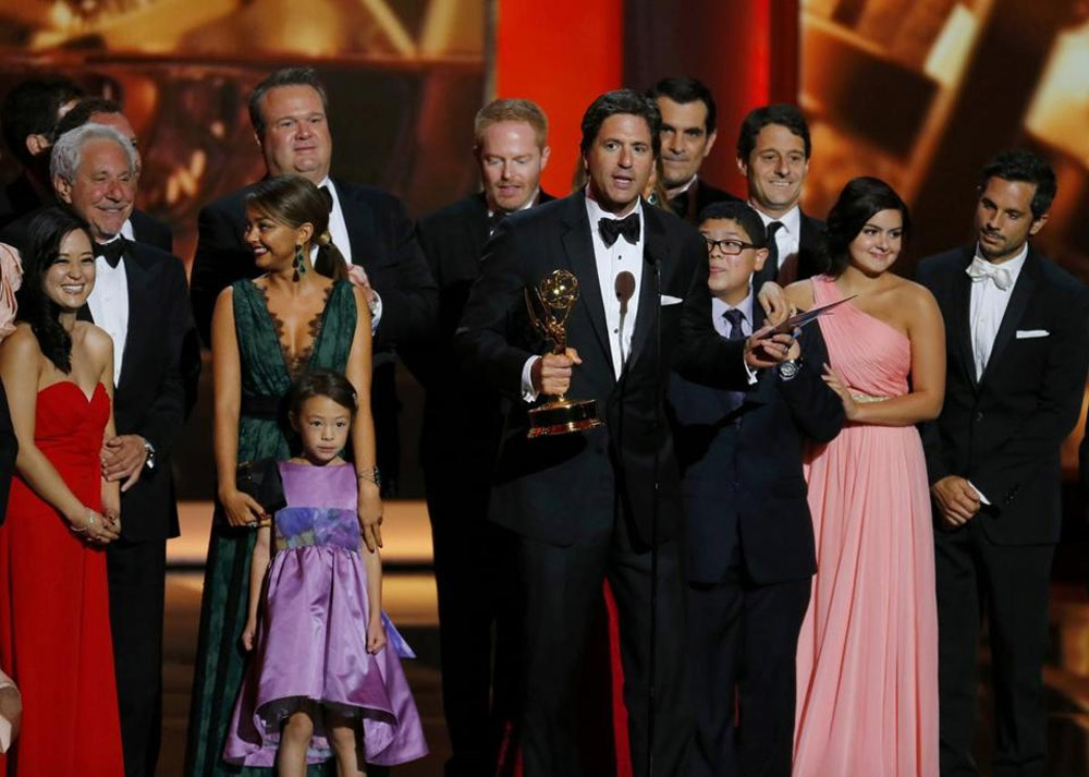 Modern Family,' 'Breaking Bad' take top honors 46579
