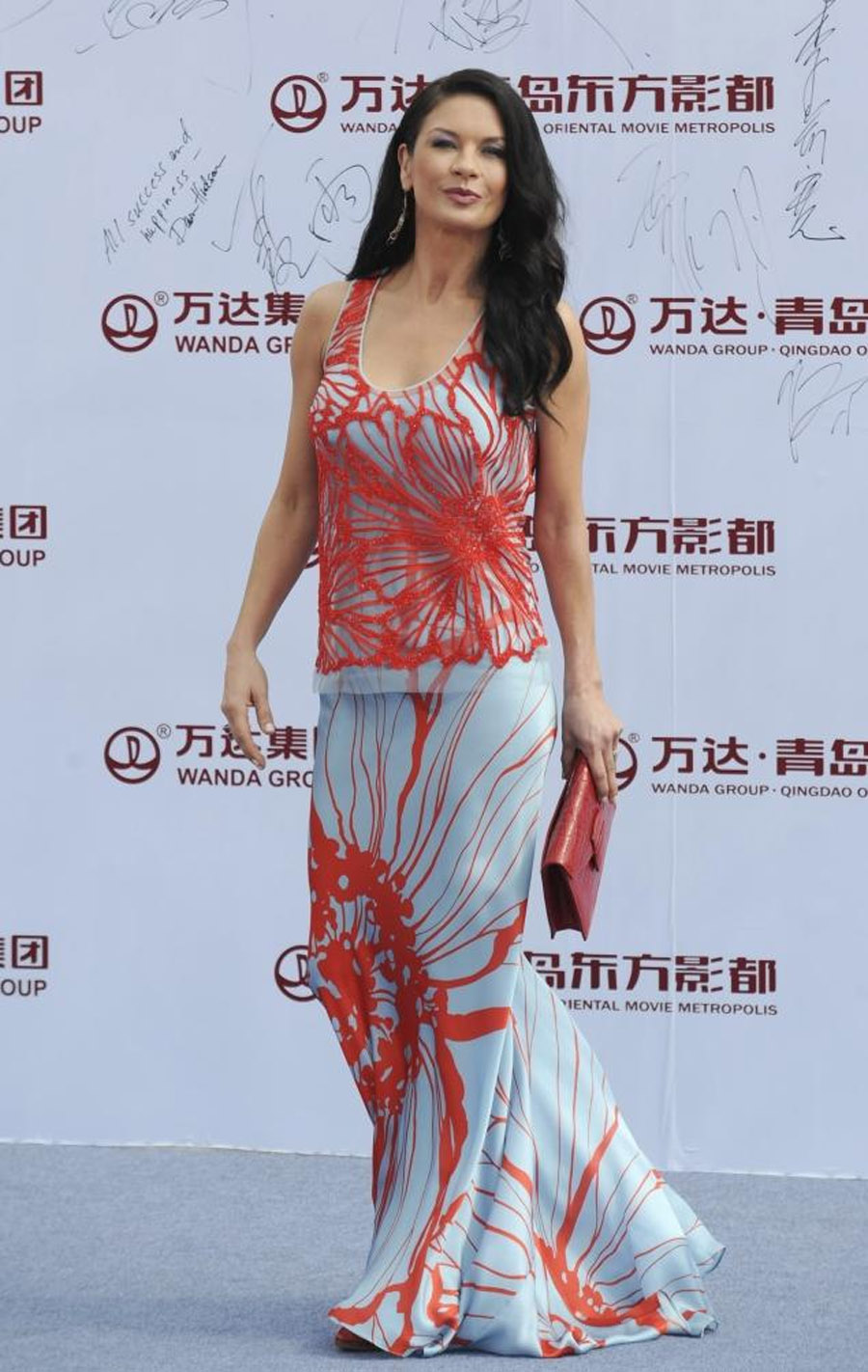 Catherine Zeta-Jones makes first public appearance since news of separation from Michael Douglas 46604
