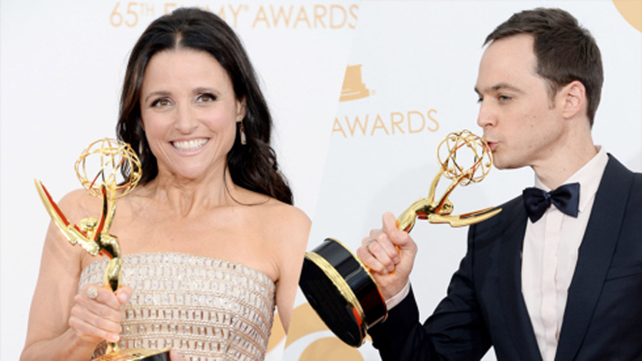 Julia Louis-Dreyfus, Jim Parsons Reign in Comedy 46618