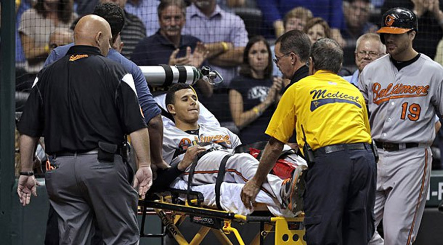Manny Machado suffers major leg injury against Rays 46649
