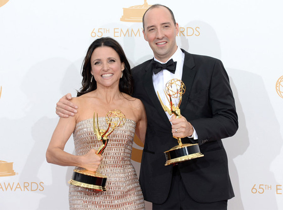 Julia Louis-Dreyfus Wins Best Actress For Veep at Emmys, Fellow Winner Tony Hale Makes Sure Speech Runs Smoothly 46660