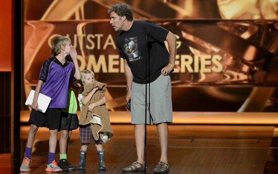 Watch Will Ferrell Hilariously Save the Emmy Awards 46667