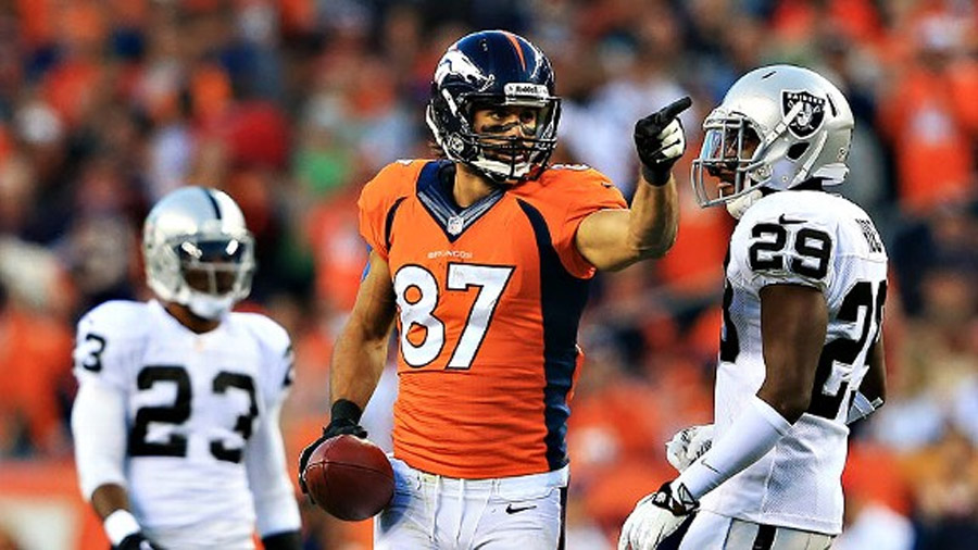 Broncos get down to AFC West business 46675