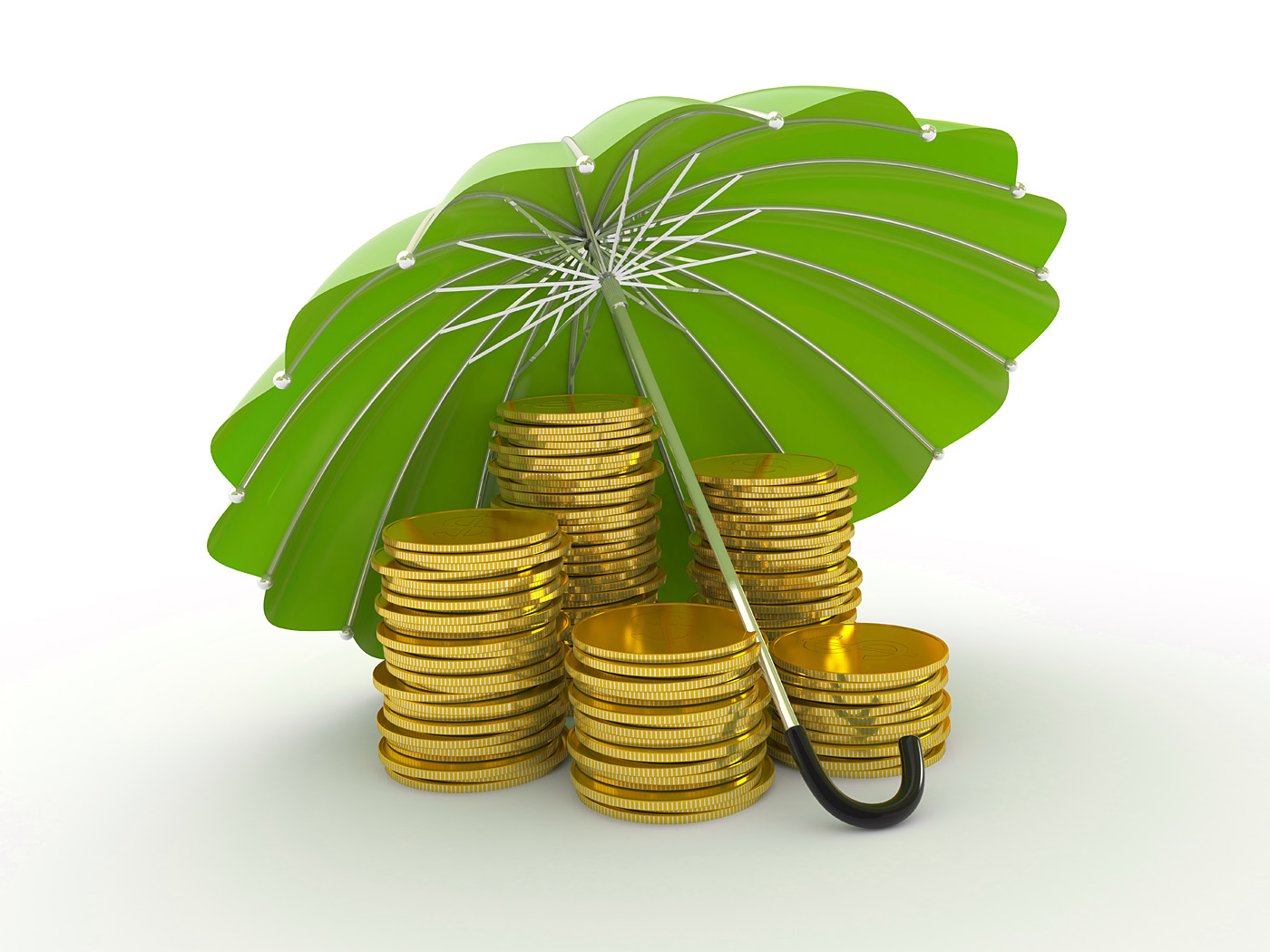 Green Umbrella Gold 46688