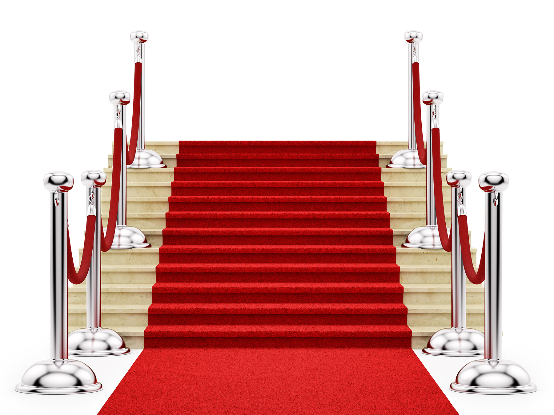 Red carpet stairs 46693