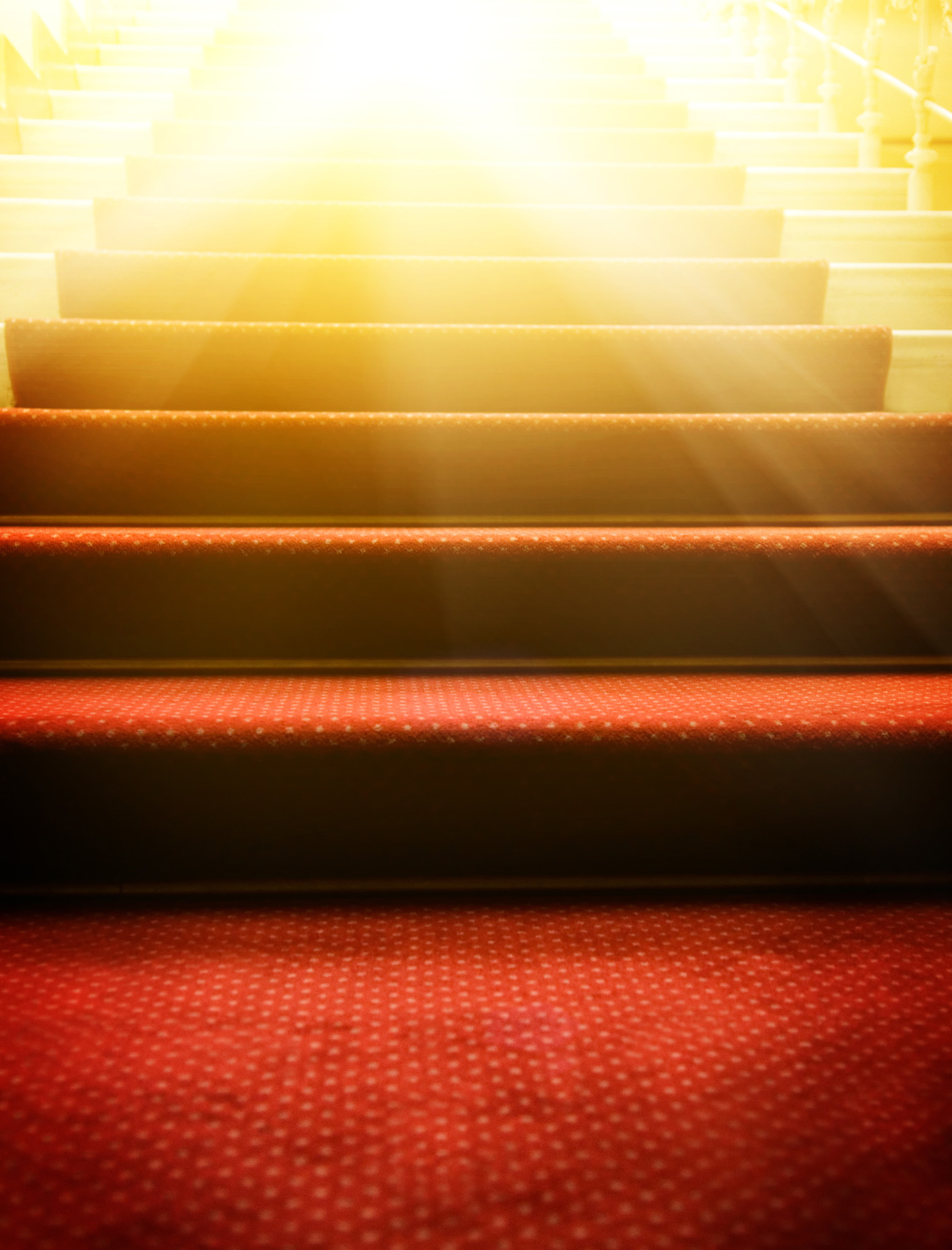 Red carpet stairs 46706
