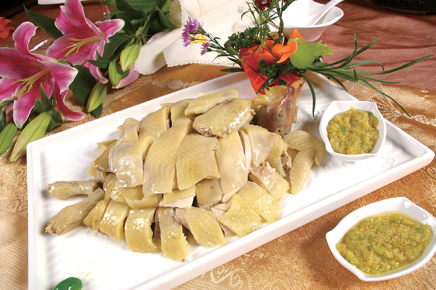 Poached chicken 46717