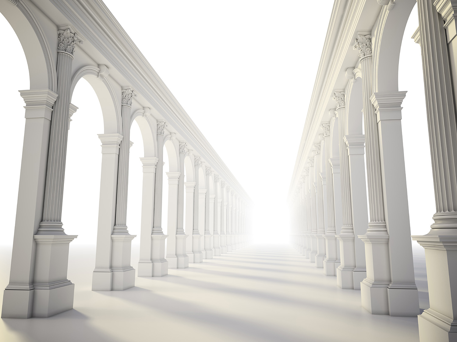 Classical colonnade 46731