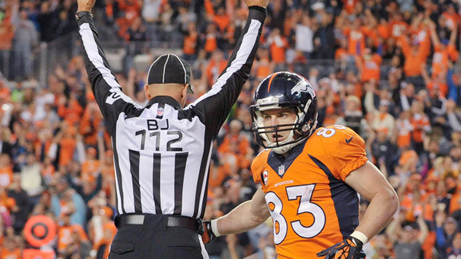 Wes Welker destroys Charles Woodson on a head fake, because that's what Welker does 46777