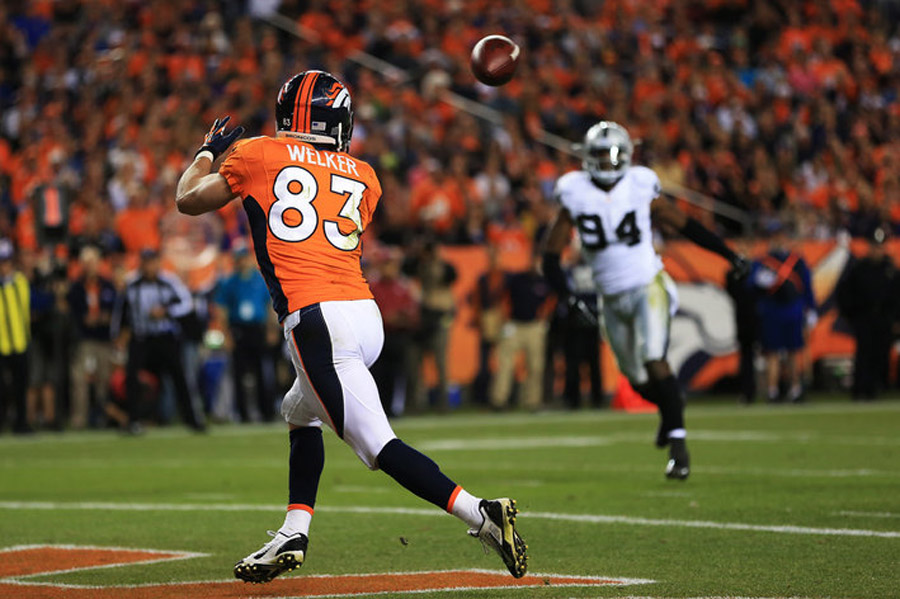 Wes Welker goes for 84 yards, touchdown in solid fantasy performance 46778