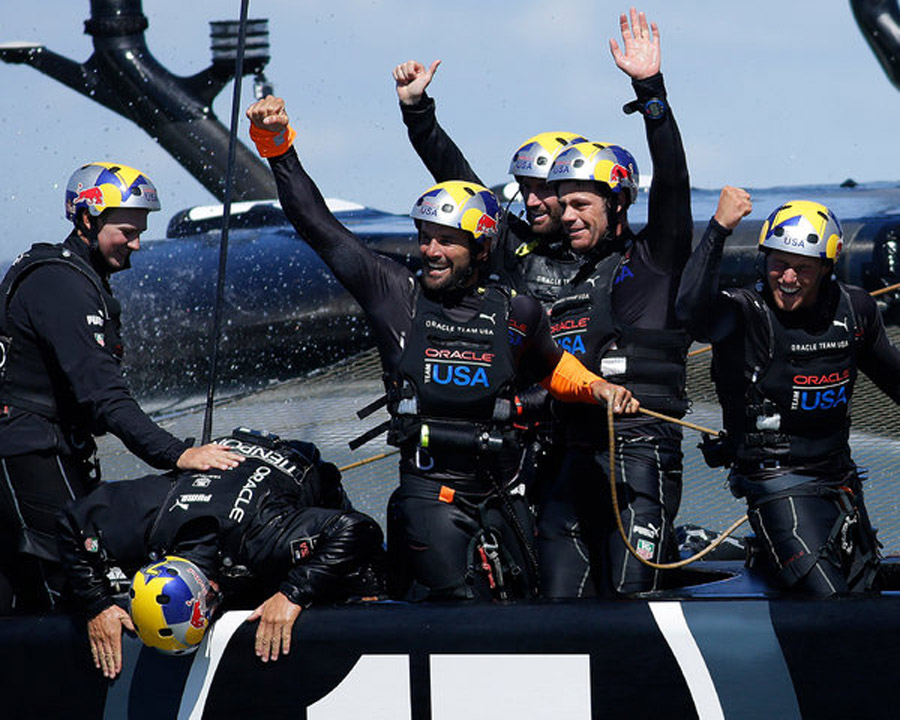 Oracle Completes Voyage to History, Winning America's Cup 46783