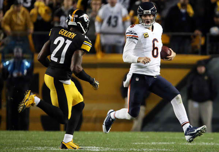 Jay Cutler's decision to not slide may have been tough, but it was equally stupid 46814