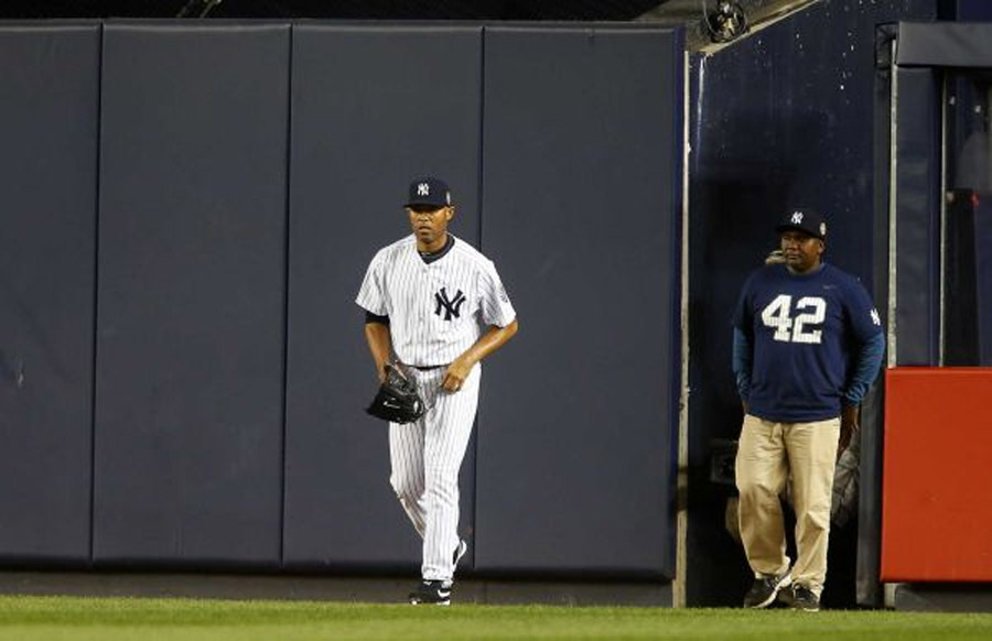 Mariano Rivera makes final Yankee Stadium entrance 46835
