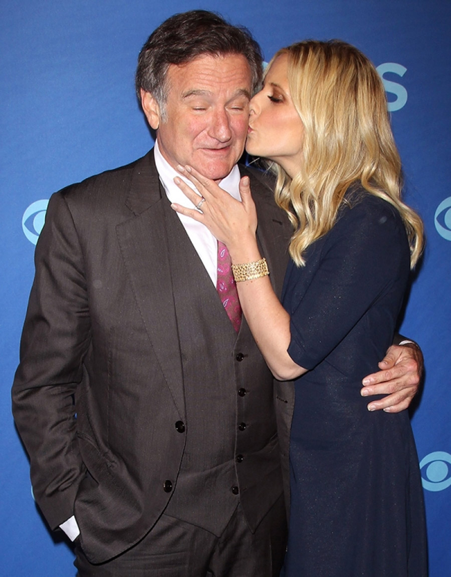 The Crazy Ones' Premiere Robin Williams & Sarah Michelle Gellar Cast Interview CBS & Behind the Scenes 46884