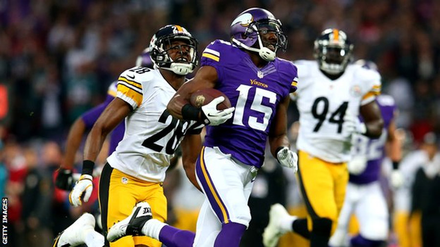 Minnesota Vikings beat Pittsburgh Steelers at Wembley 46902