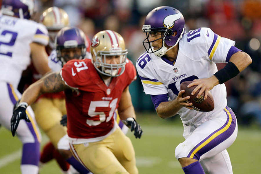 Cassel Will Start at Quarterback When Vikings Face the Steelers in London 46903