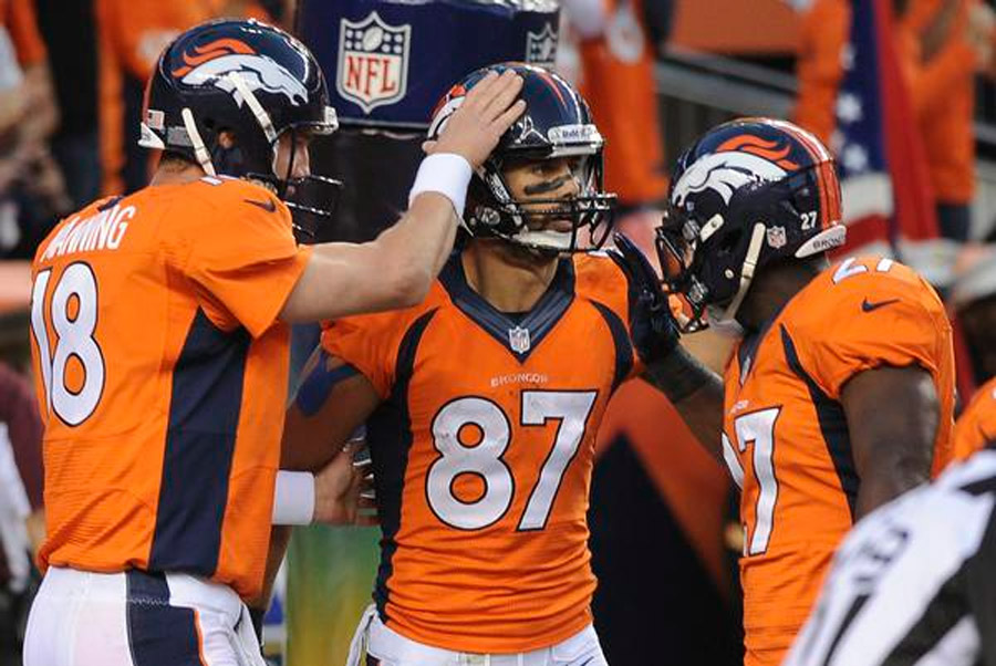 Eric Decker heats up for Broncos with eight receptions, and no drops 46921