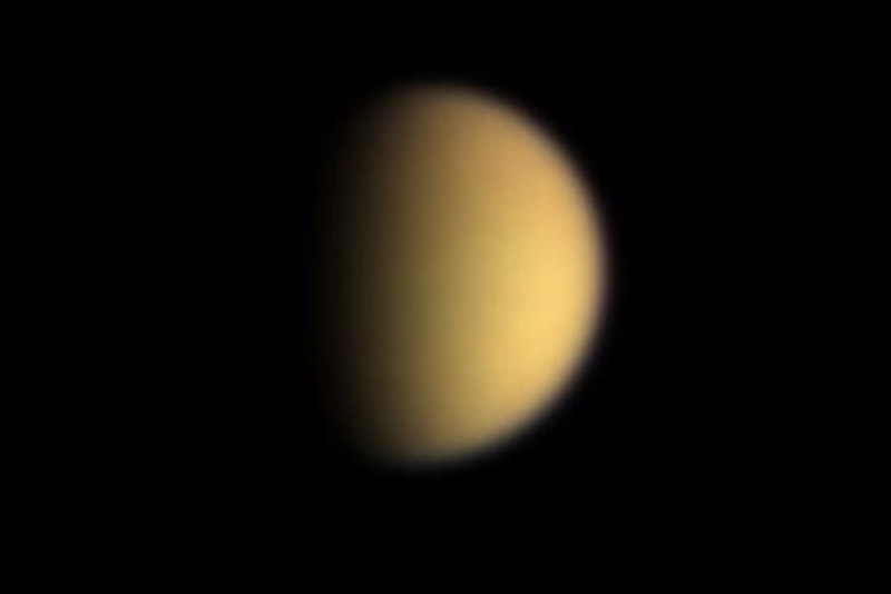 NASA finds plastic ingredient propylene on Saturn moon Titan 46991