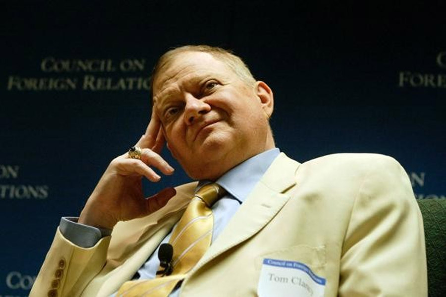Tom Clancy, author of 'Hunt for Red October' and other bestsellers, dies in Baltimore at 66 47011