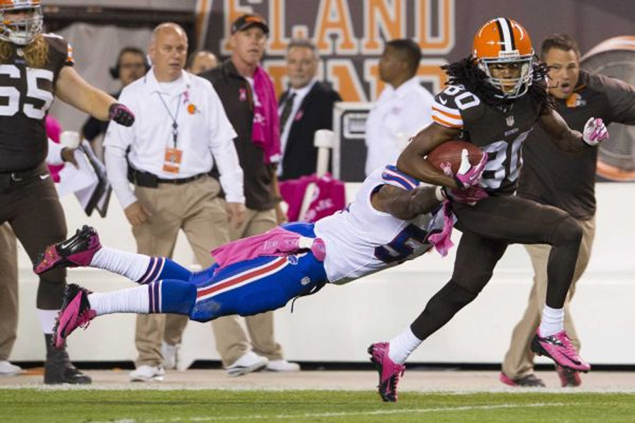 Cleveland Browns beat Buffalo Bills on Thursday Night Football on Brandon Weeden's rally 47056