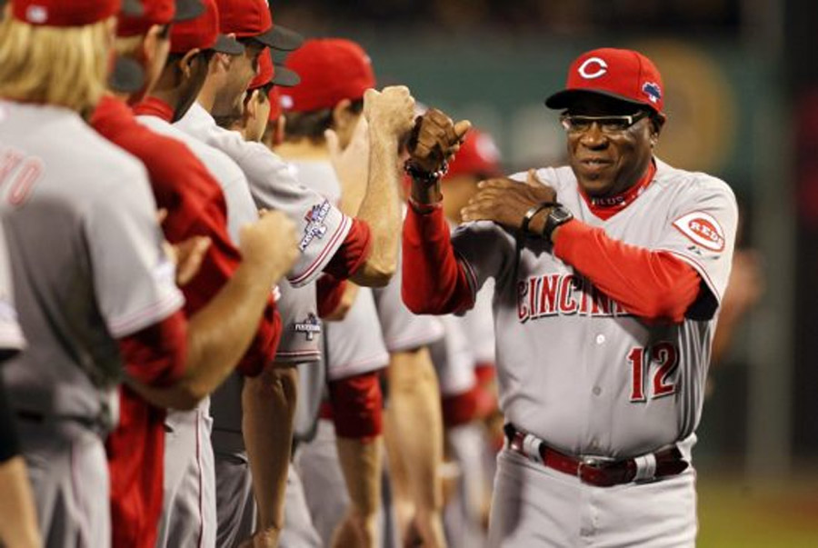 Cincinnati Reds Dusty Baker as manager 47091