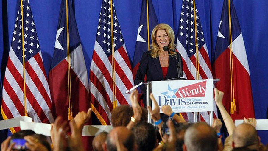 Wendy Davis, known for pro-choice filibuster, runs for Texas governor 47093