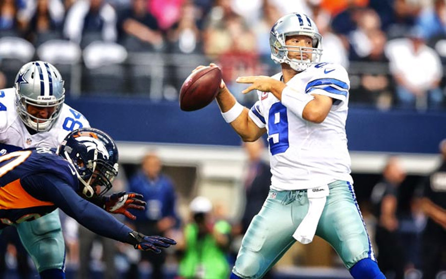 Cowboys QB Tony Romo throws for 506 yards in loss to Broncos 47114