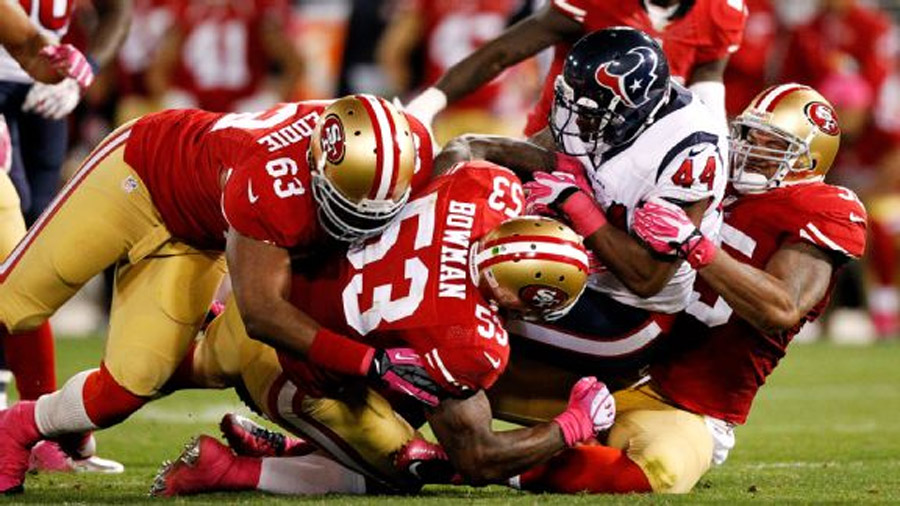 49ers thrive with dominant defense 47132